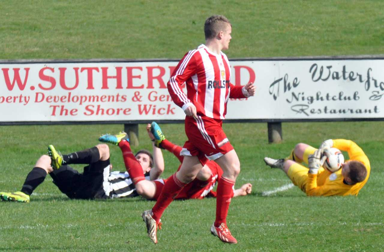 Photo: Wick Academy 1 Formartine 1