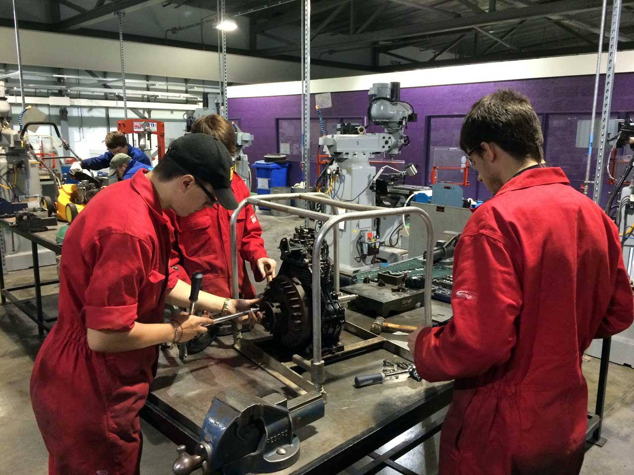 Photo: Summer Engineering Programme Prepares Young Adults