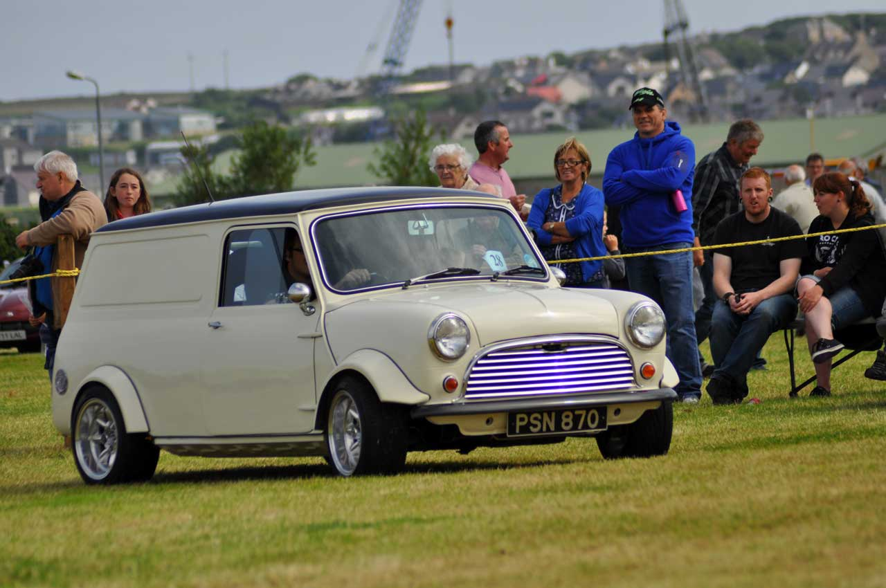 Photo: Orkney Vintage Car Club Rally 2014