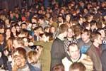 Wick Hogmanay Crowds welcome 2015