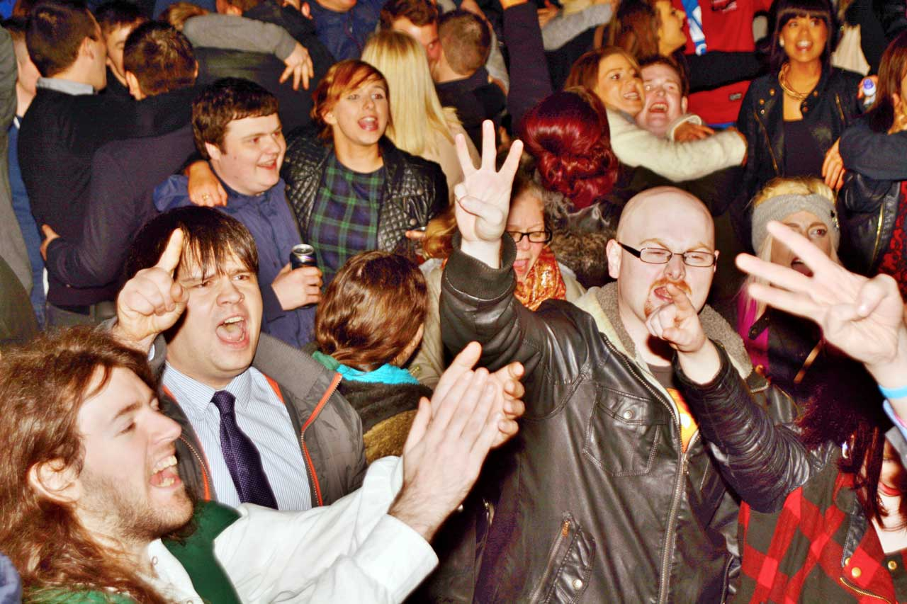 Photo: Hogmanay Party At Wick To Welcome 2015