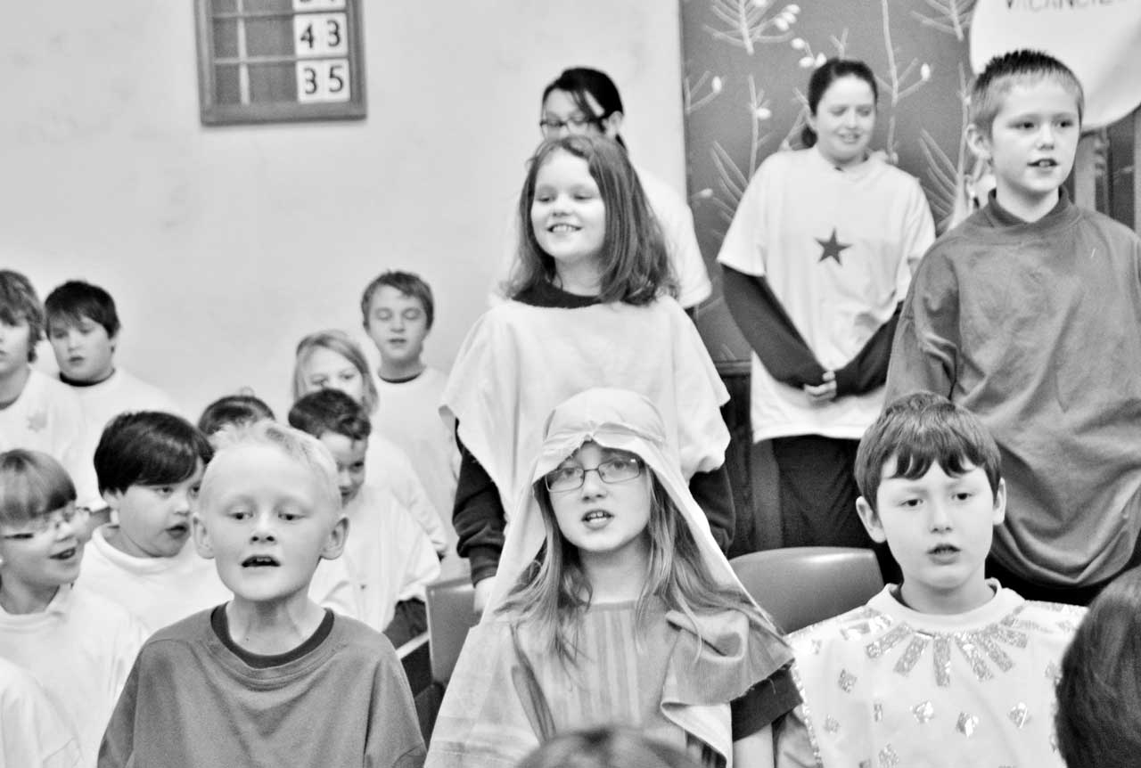 Photo: Keiss School Christmas Concert