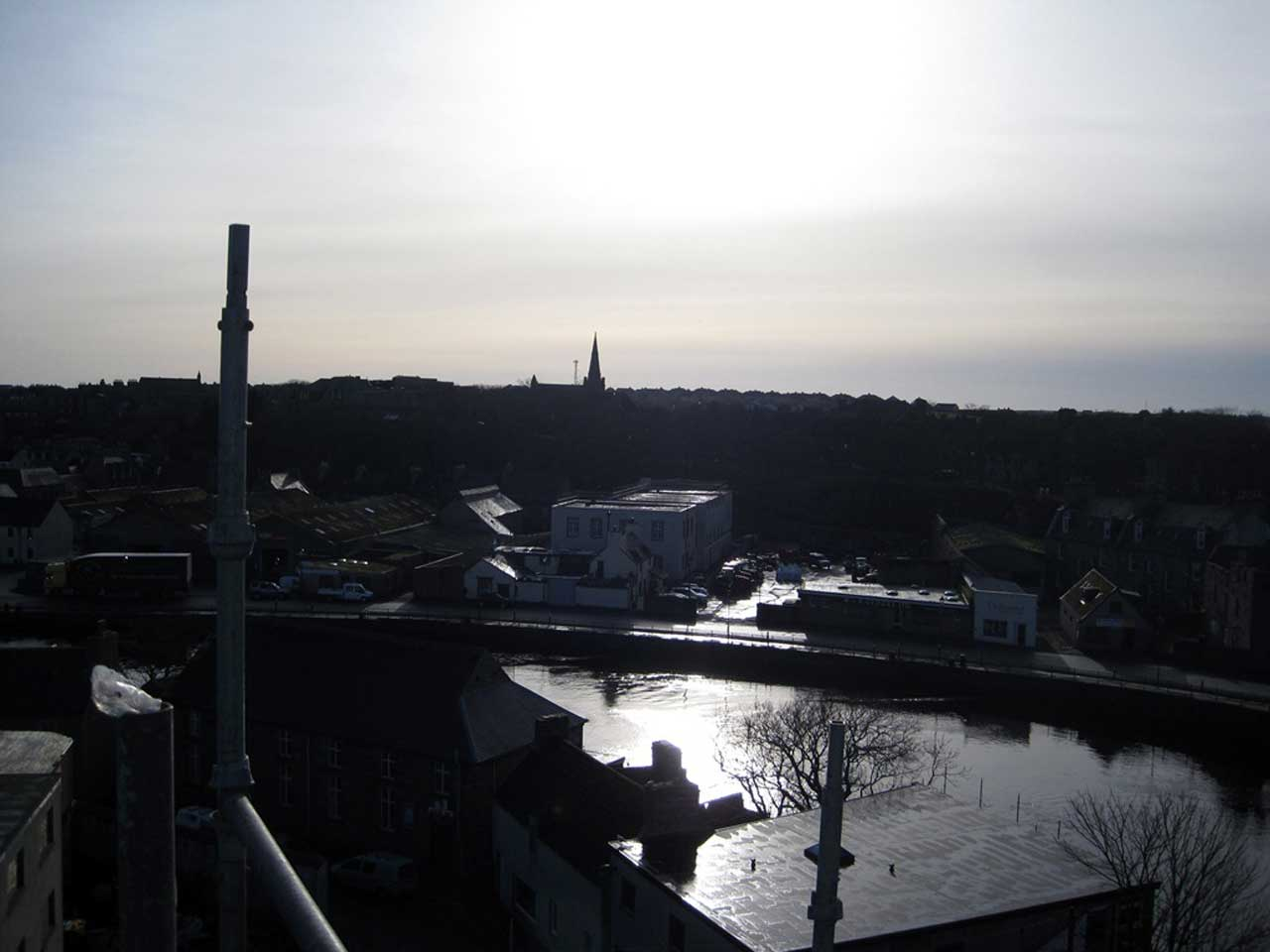 Photo: Over the river To Pulteneytown