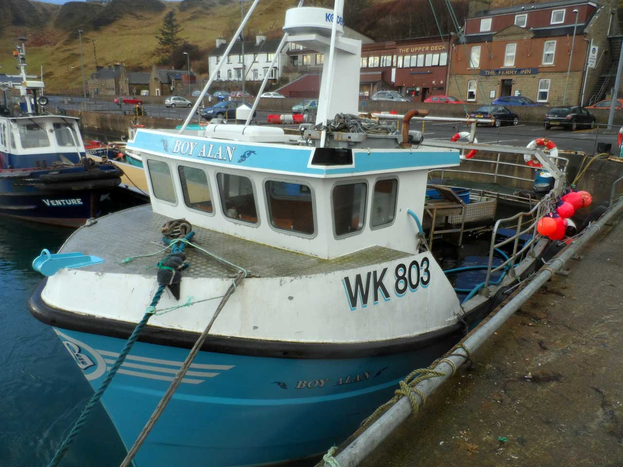 Photo: Scrabster Harbour 25th January 2014