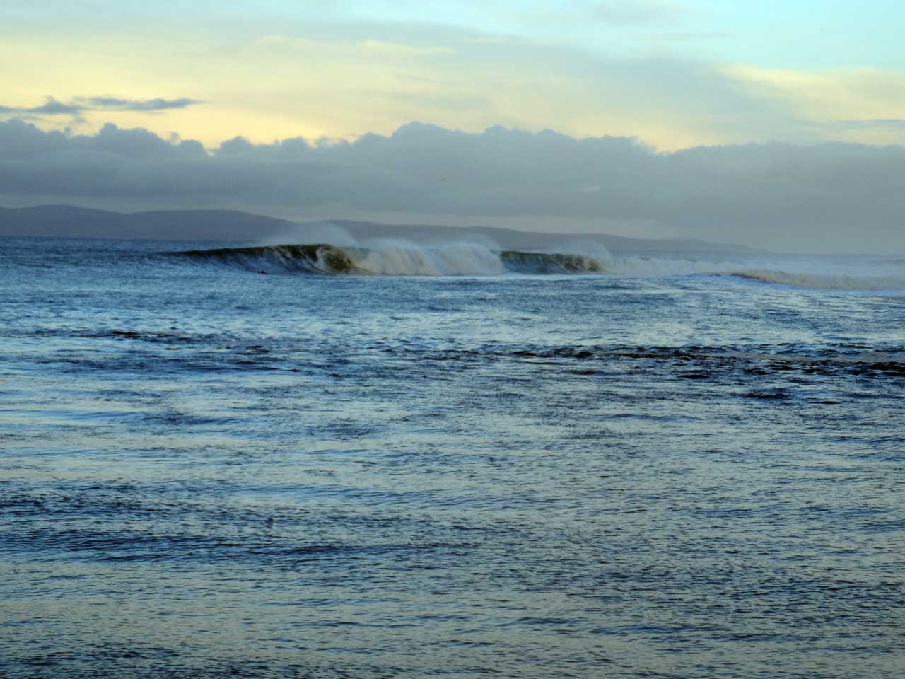 Photo: Surfers Paradise At Thurso East Saturday 25th January 2014
