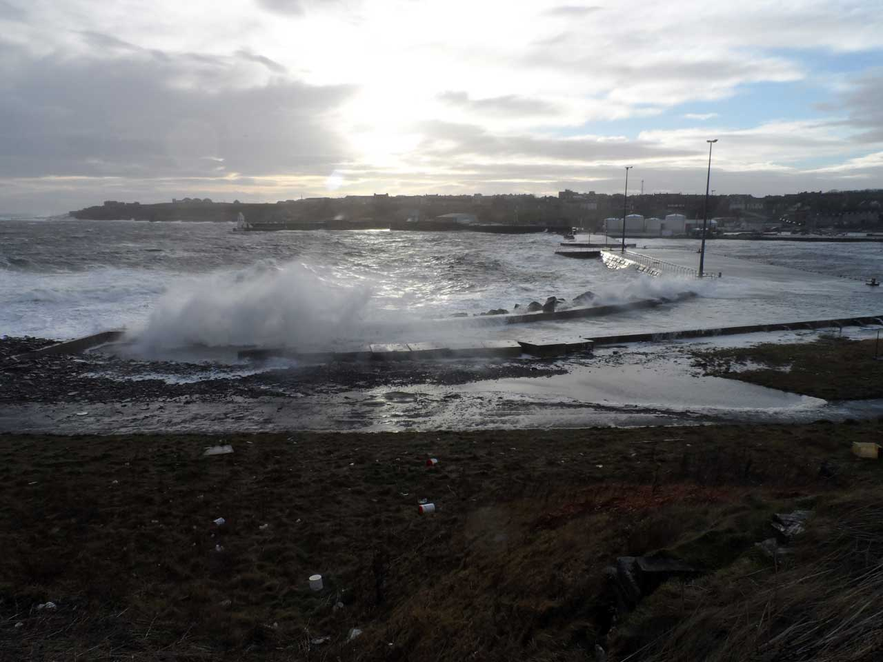 Photo: Wick Harbour 3 January 2014