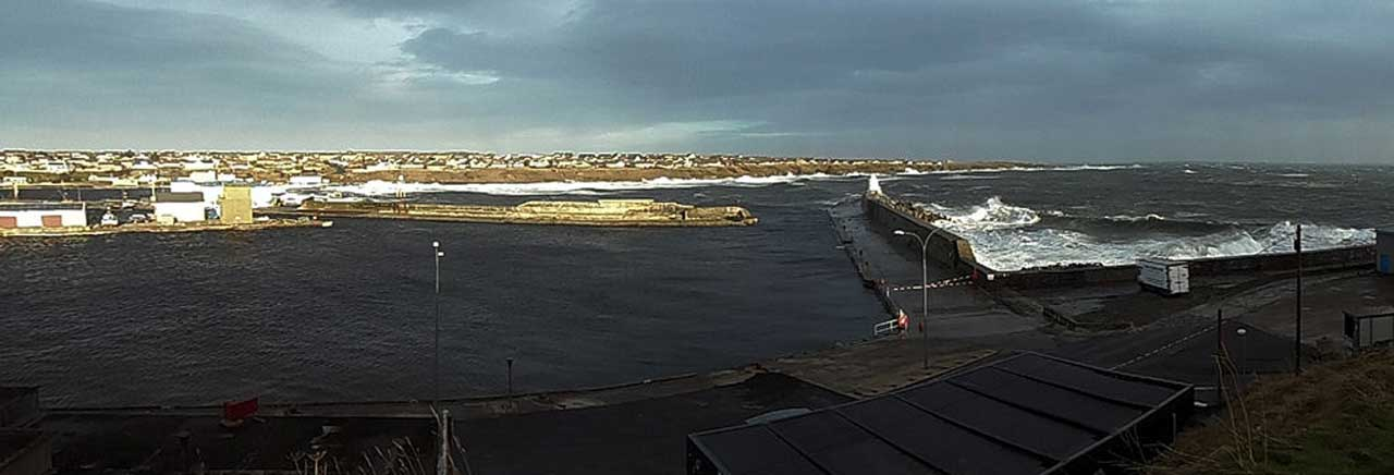 Photo: Wick Harbour 3 January 2014