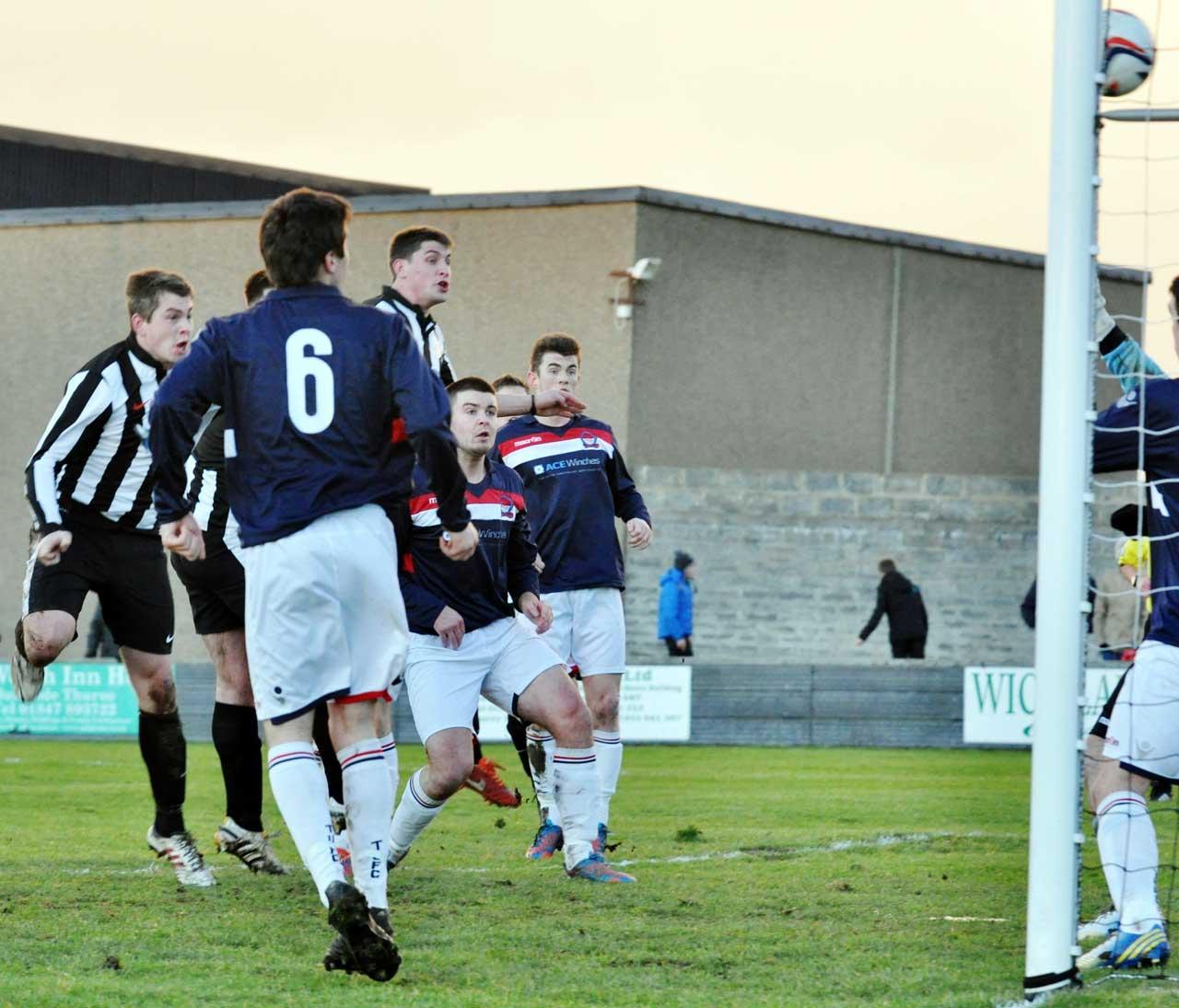 Photo: Wick Academy 4 United Turriff 1