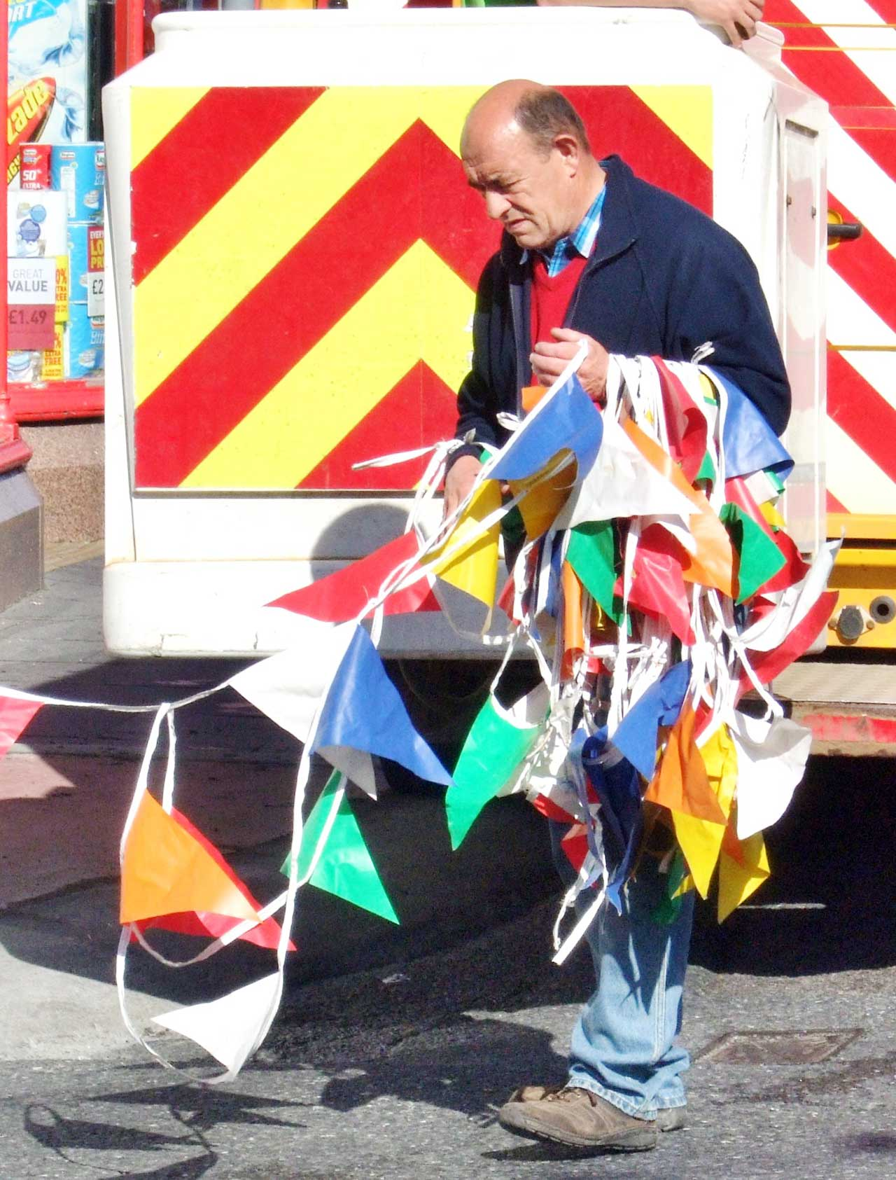 Photo: Bunting Goes Up For Wick Gala