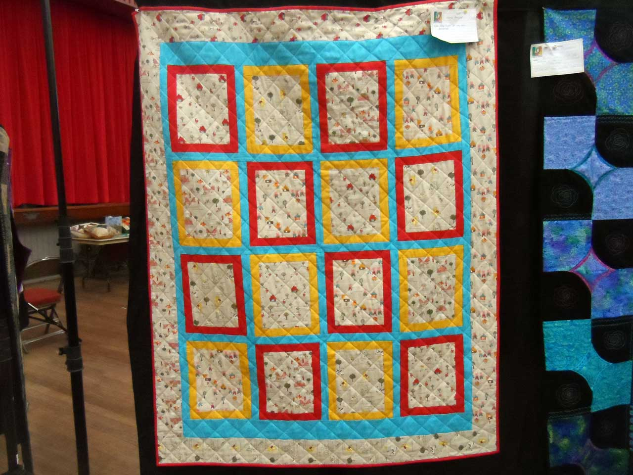 Photo: Wick Gala 2014 - Caithness Quilters Exhibition
