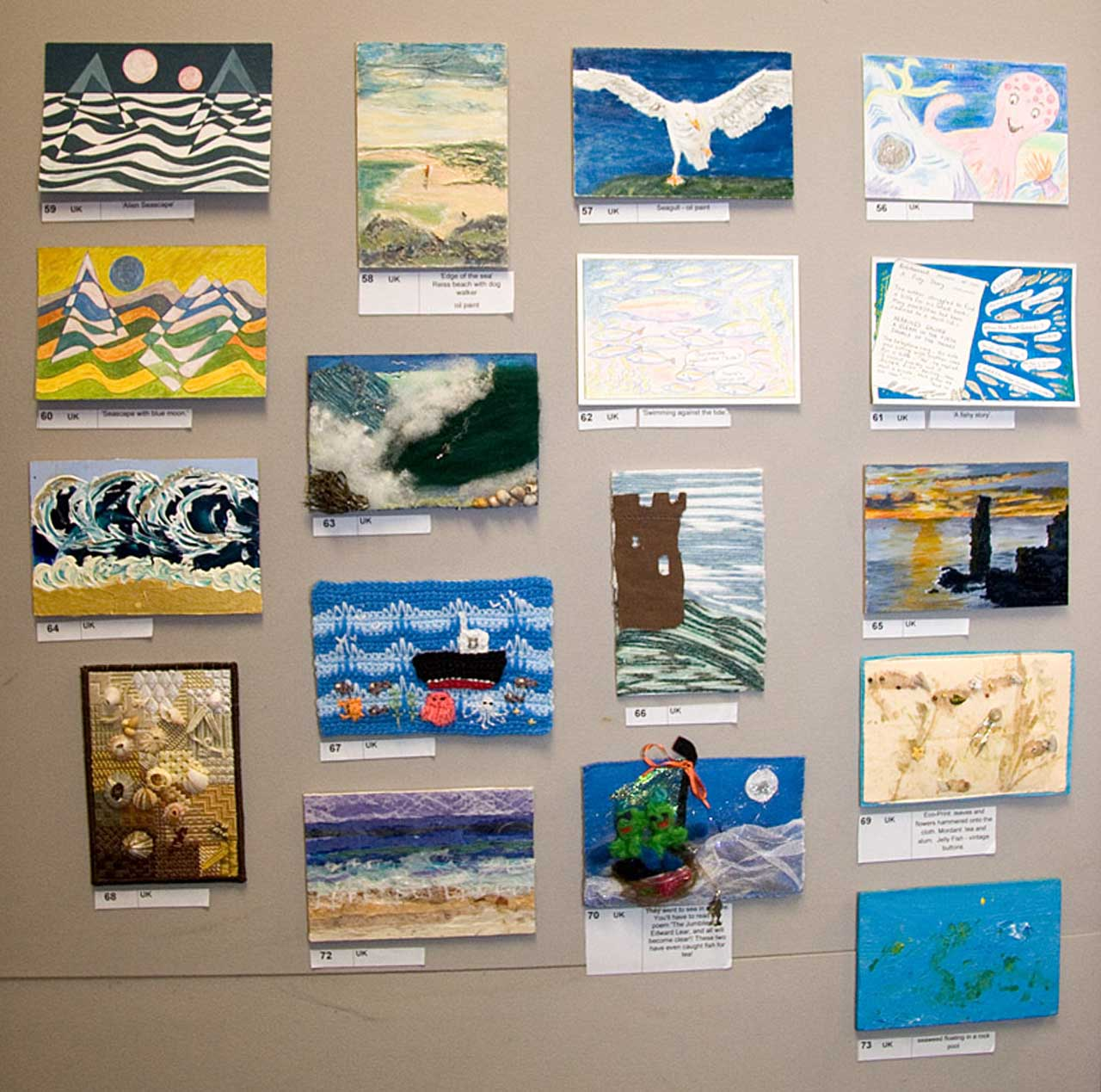Photo: Postcard SEA Fundraiser and Exhibition Launched