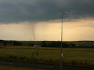 Twister at Wick shows weather is unusally warm.