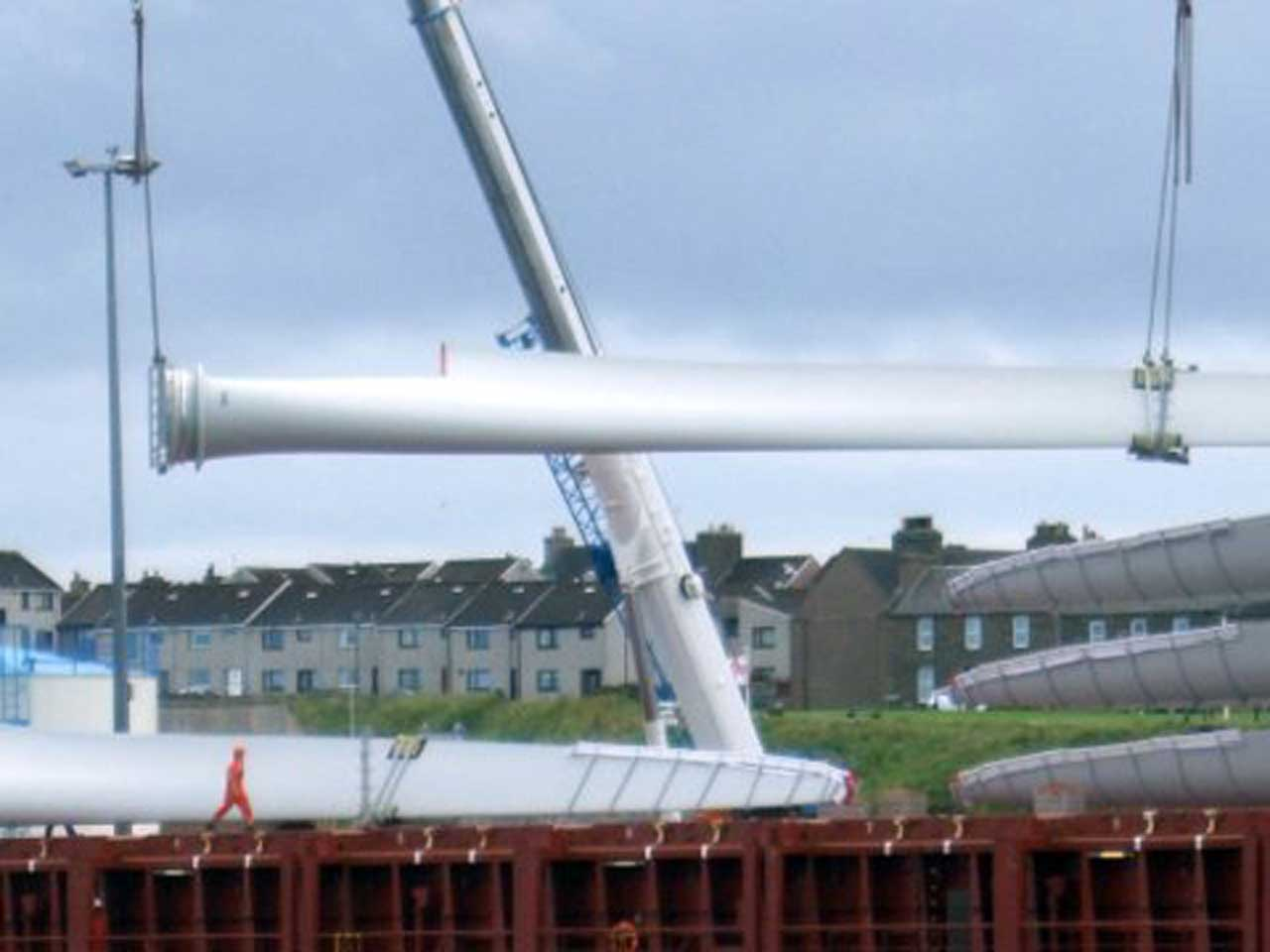 Photo: Wind Turbines For Stroupster Wind Farm