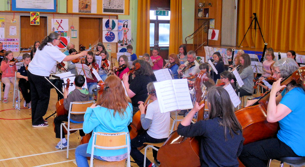 Photo: Far North Youth Orchestra - Another Practice Day Goes Well