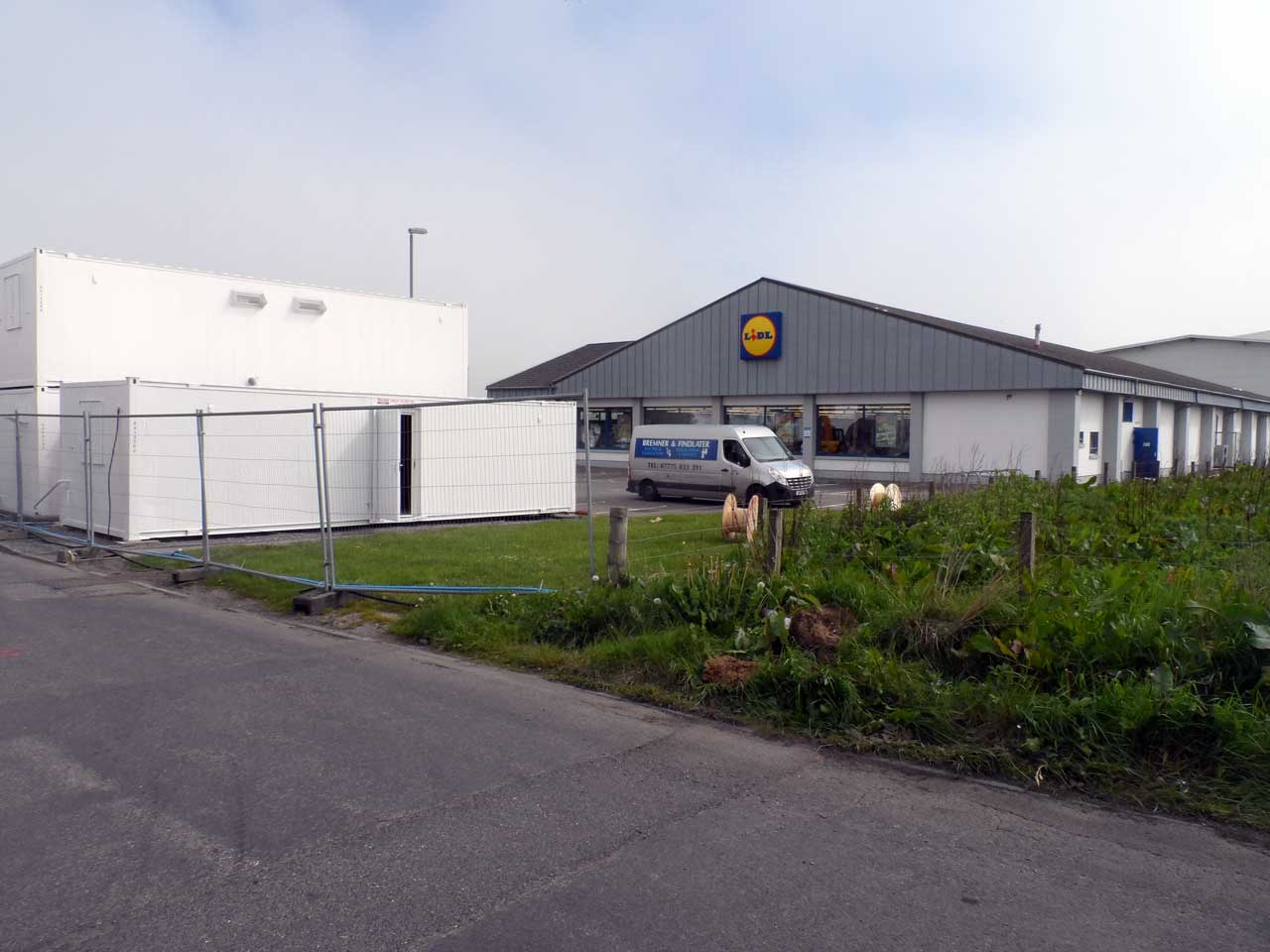 Photo: Lidl Extension Build Underway At Wick