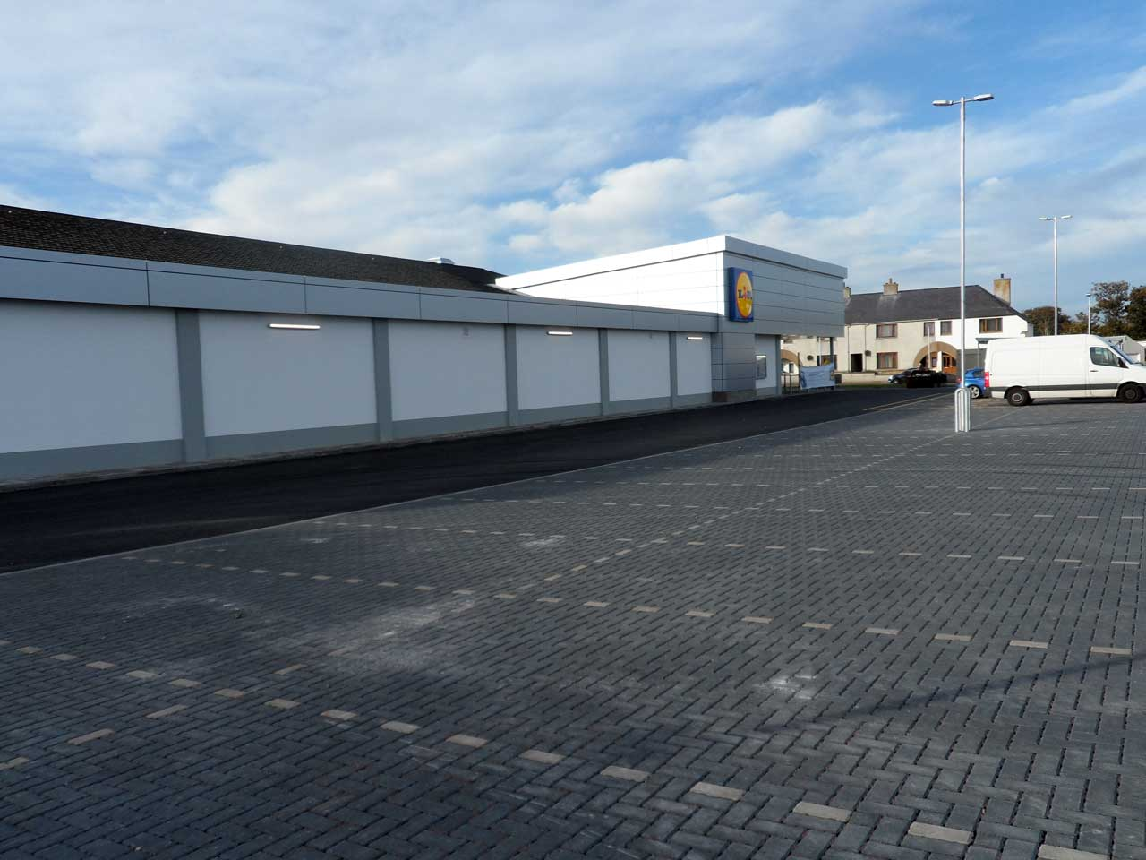Photo: Lidl, Wick - Completed and Shelves Being Stocked - 5 October 2014