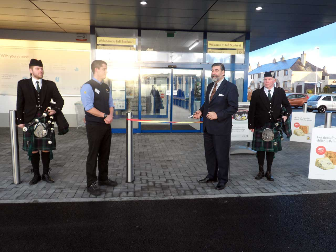 Photo: Lidl, Wick - Reopened 9 October 2014