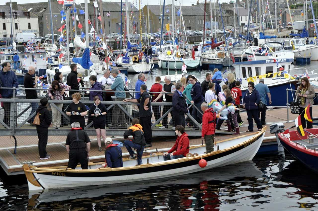 Photo: Wick Harbour Day 2014