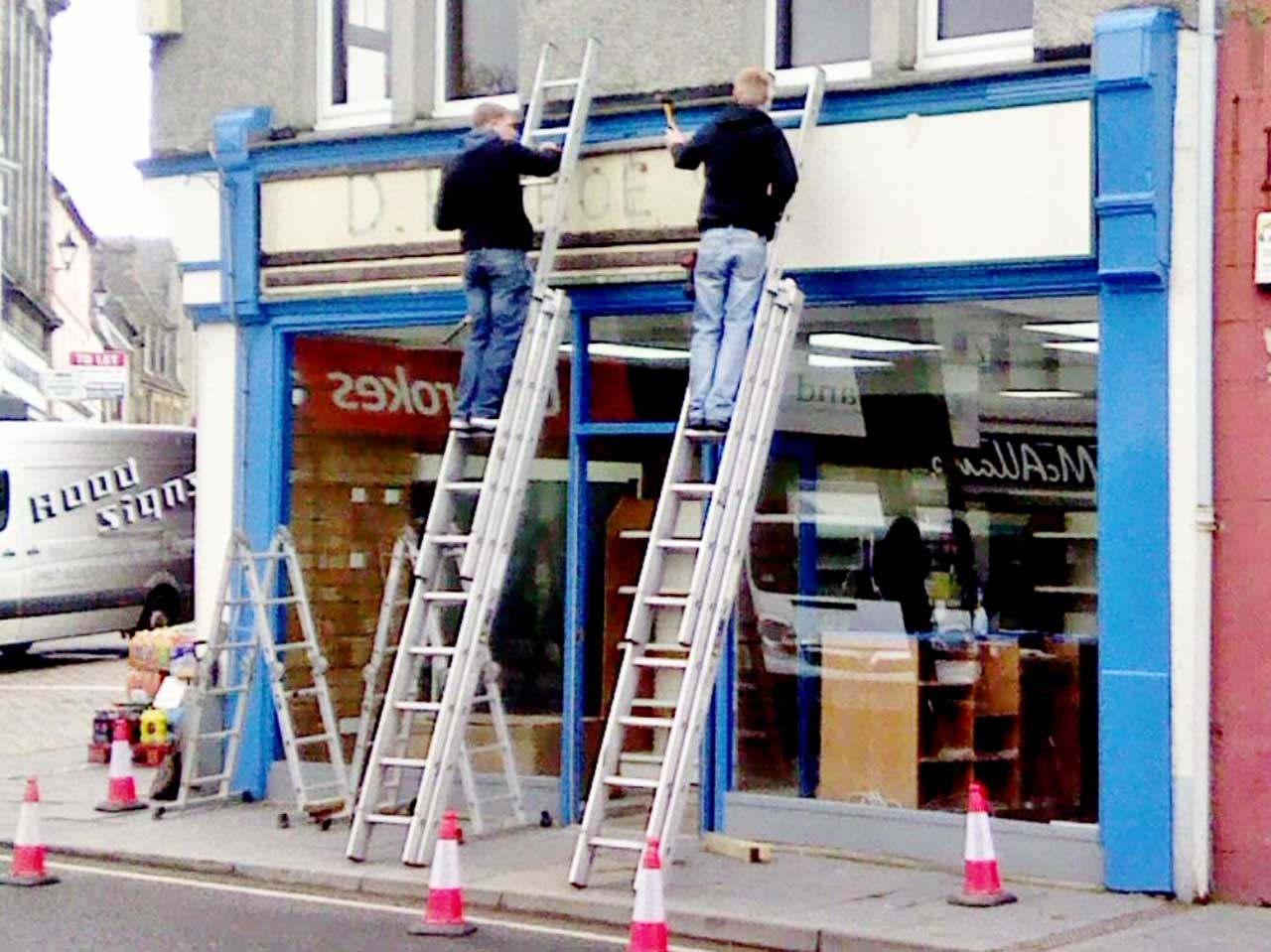 Photo: New Shop Brightens Up Wick Town Centre