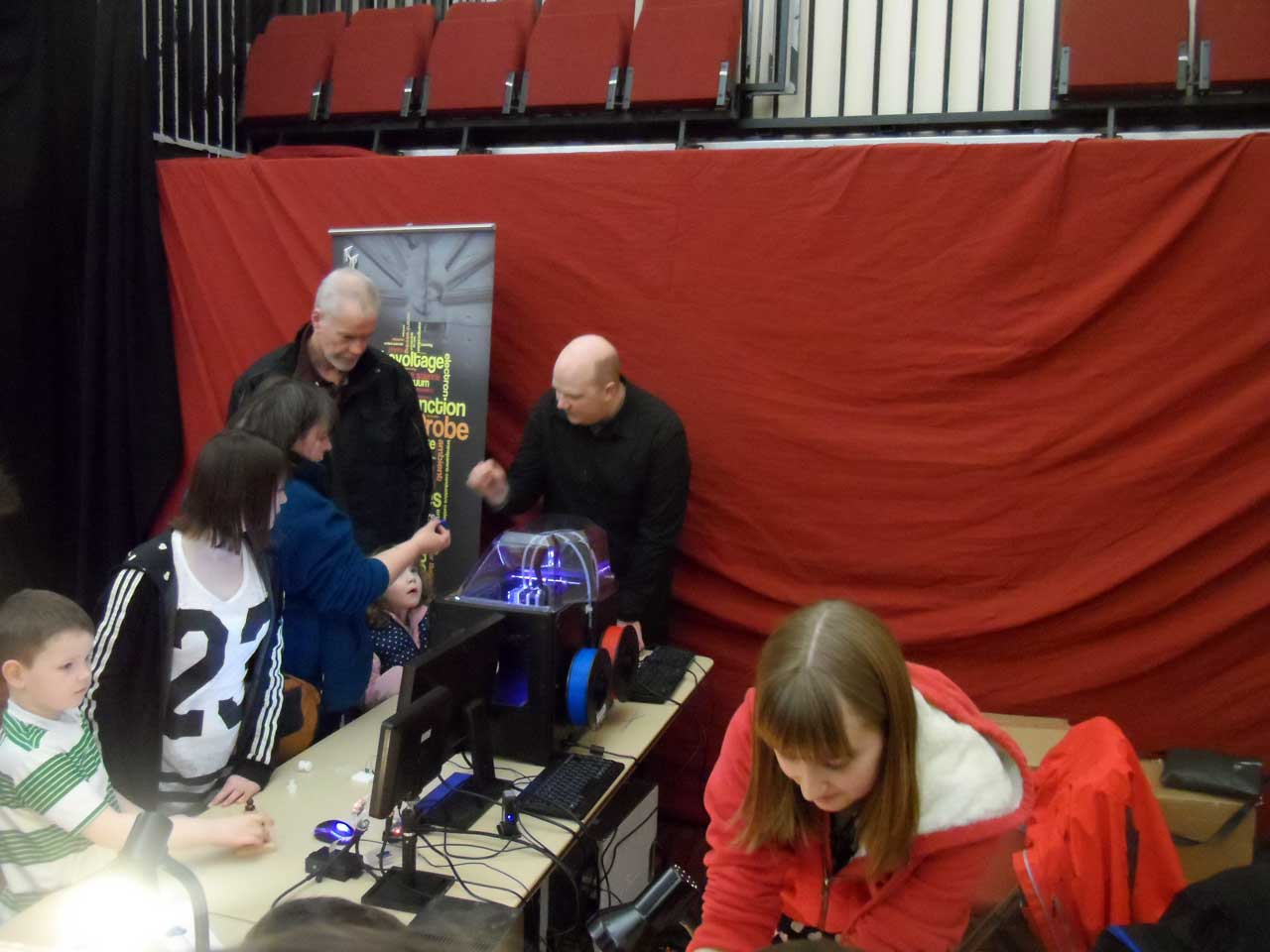 Photo: Family Fun Day At Caithness Science Festival 2014