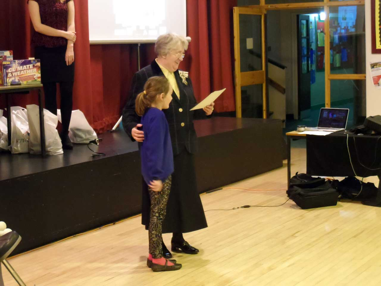 Photo: Opening Event At Caithness Science Festival 2014