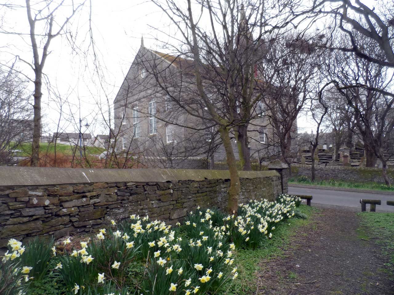 Photo: Below The Church At Riverside, Wick