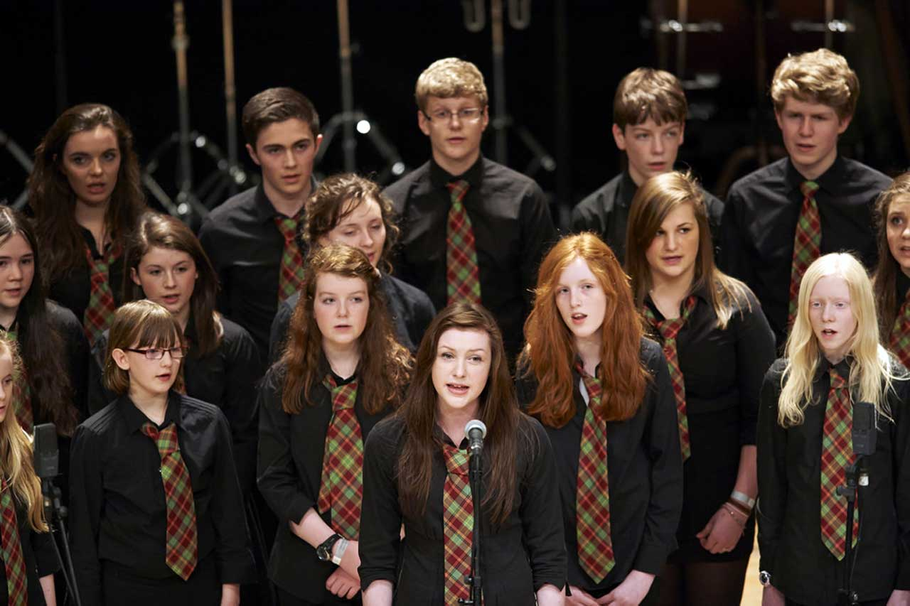Photo: Young Highland Musicians