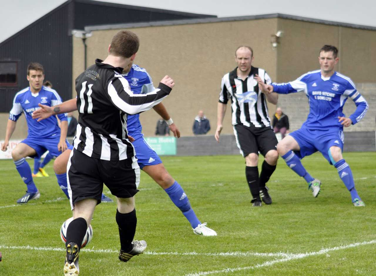 Photo: Wick Academy 6 Strathspey Thistle 1