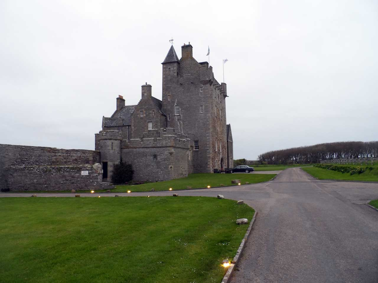 Photo: Ackergill Tower After Comlete Refurbishment