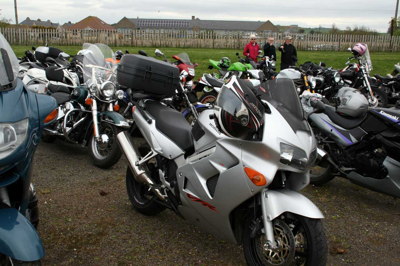 Photo: 2014 Classic Motor Cycle Rally In Caithness