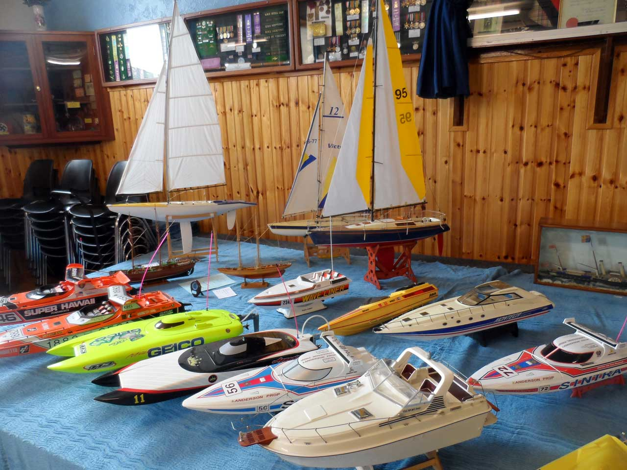 Photo: Pentland Model Boat Club 2014 Show