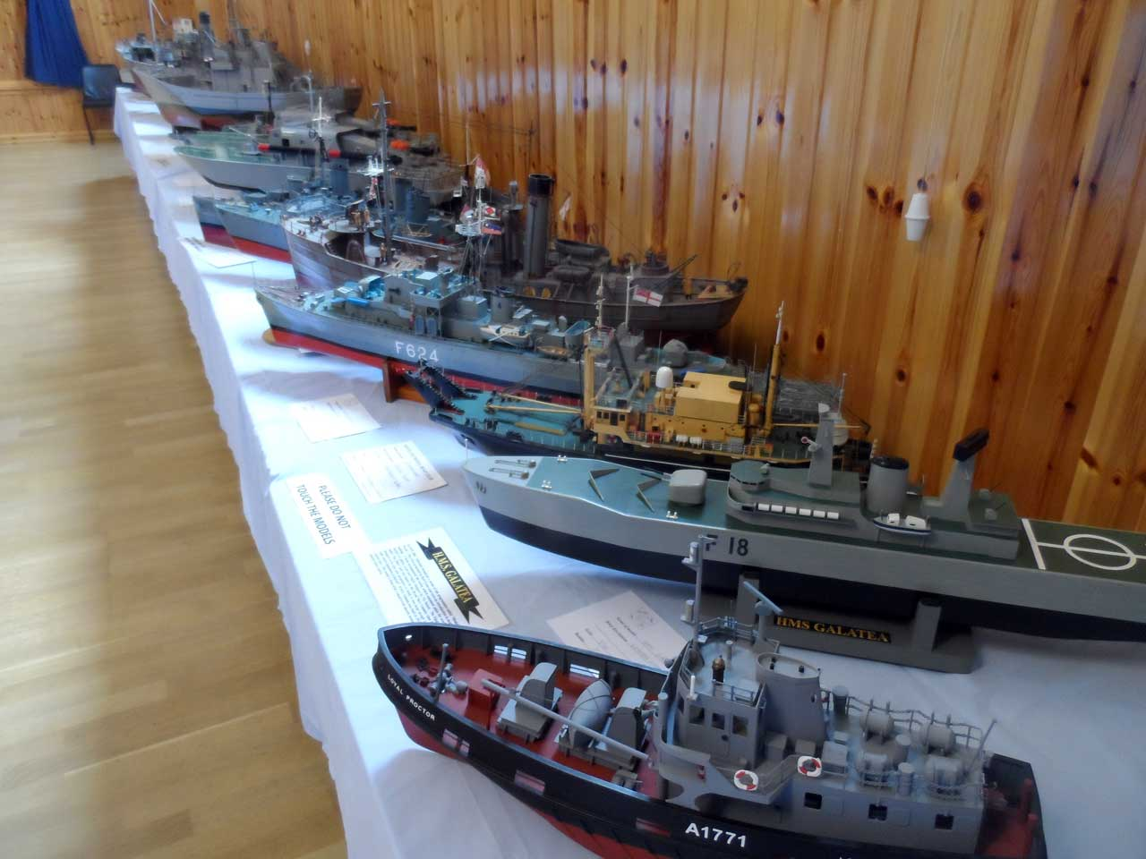 Photo: Pentland Model Boat Club 2014 Show