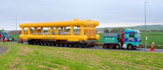 Huge Towhead bound for subsea7 at Wester near Wick