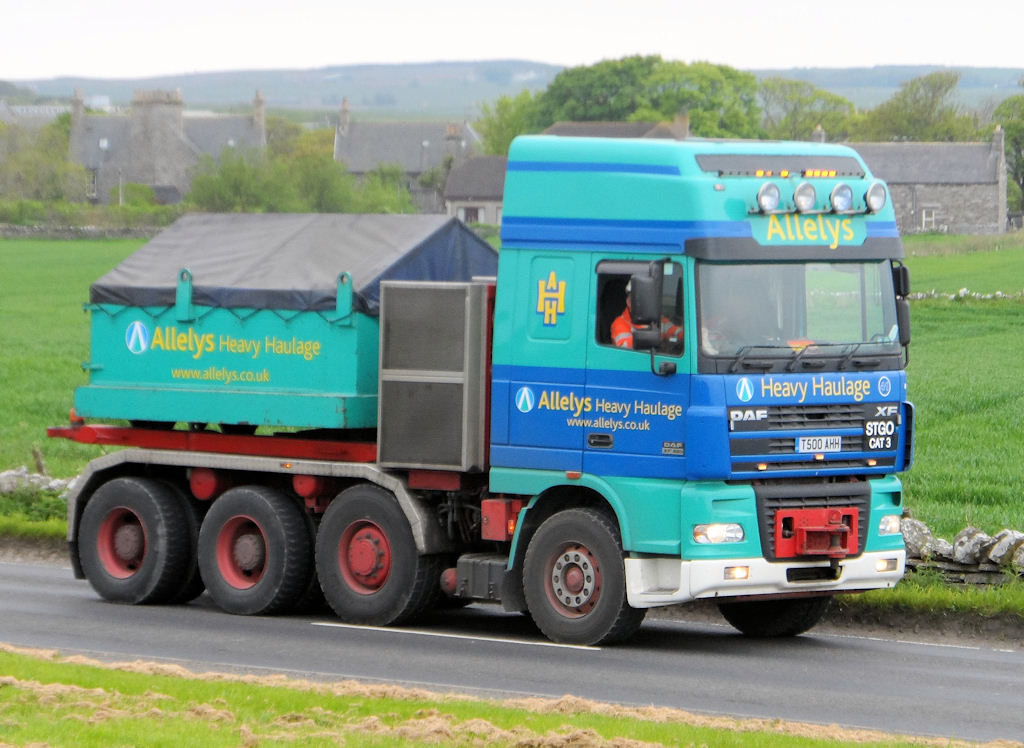 Photo: Huge Tow Head Bound For Wester Passing Tesco, Wick