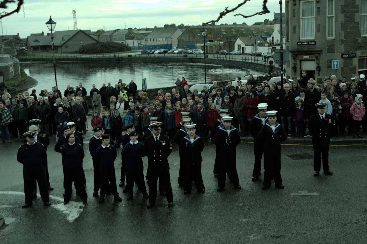 Photo: Remembrance At Wick 2014