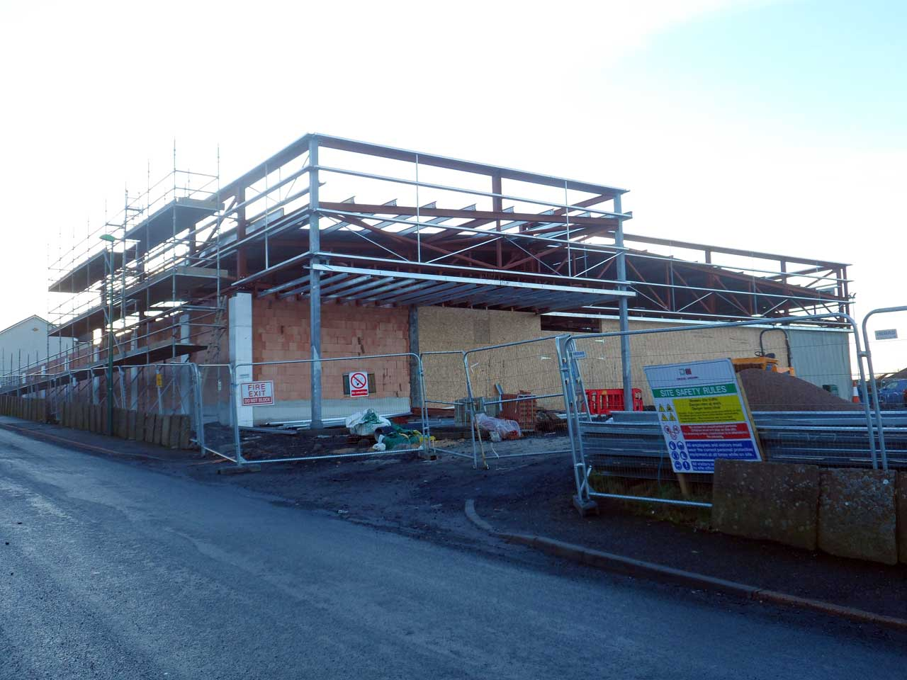 Photo: Lidl Thurso Extension - 4 January 2015