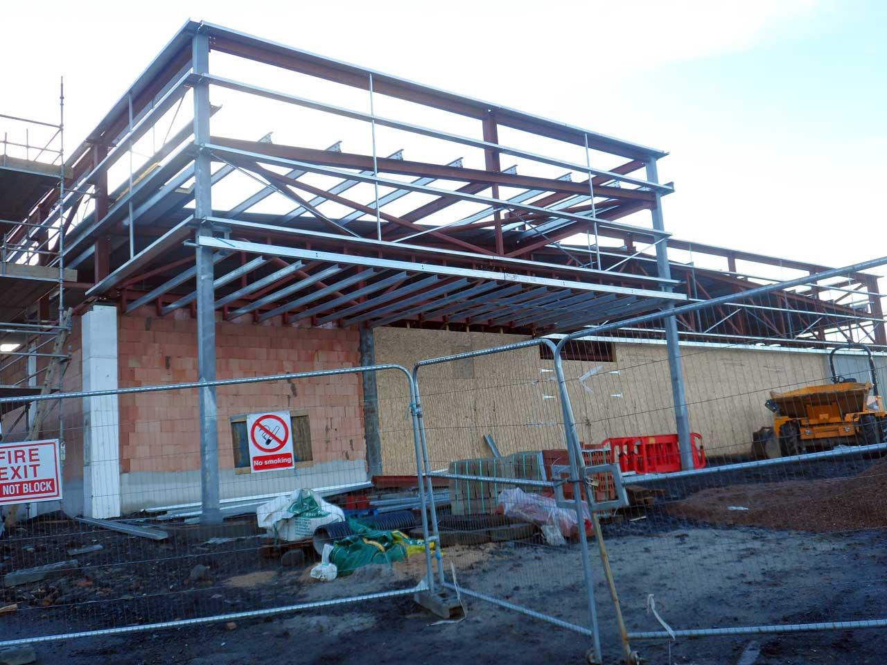 Photo: Lidl Thurso Extension - 4 January 2015