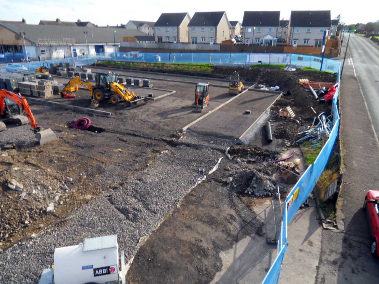 Photo: Lidl Thurso Extension - 5 October 2014