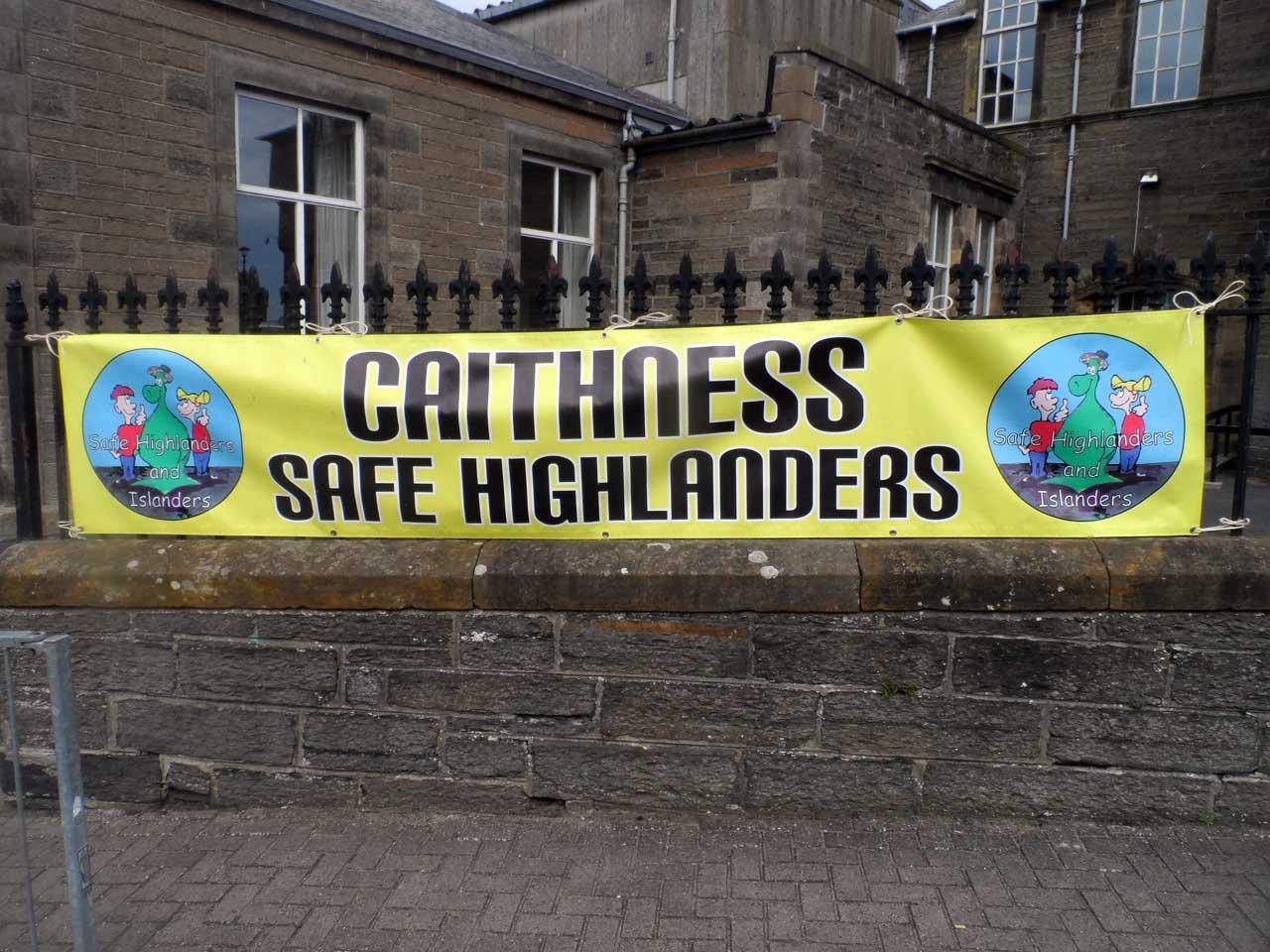 Photo: Caithness Safe Highlanders