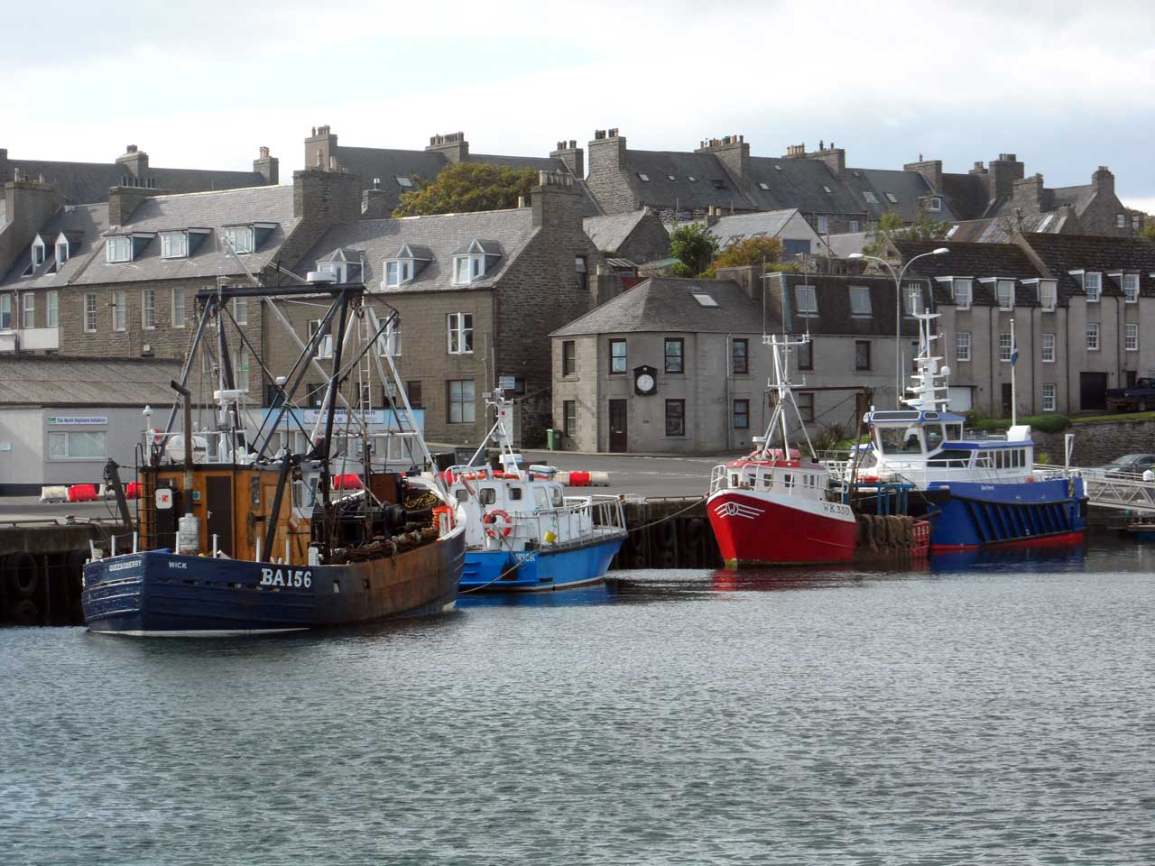 Photo: Wick Harbour - 27 September 2014