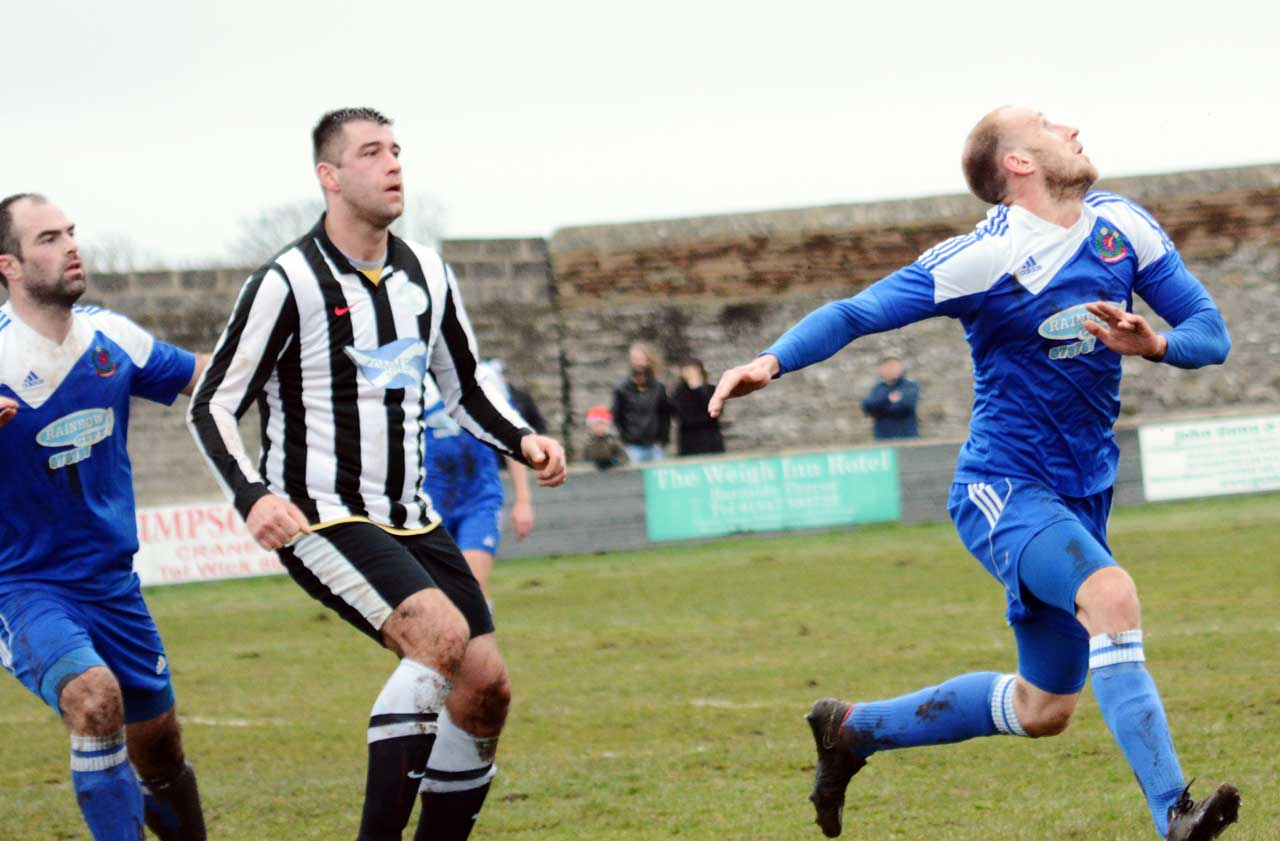 Photo: Wick Academy 1 Cove Rangers 1