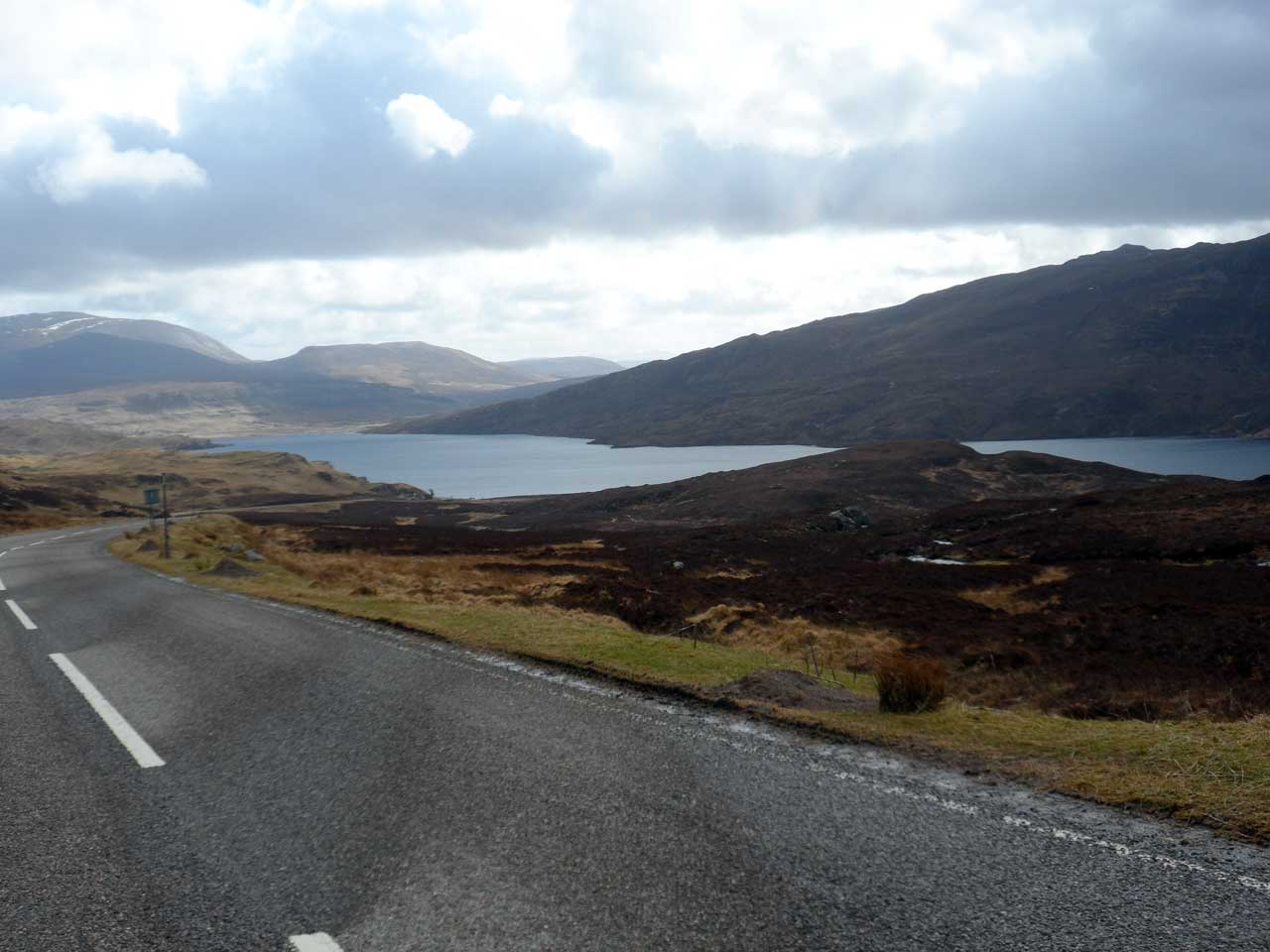 Photo: Kylesku to Lairg A837