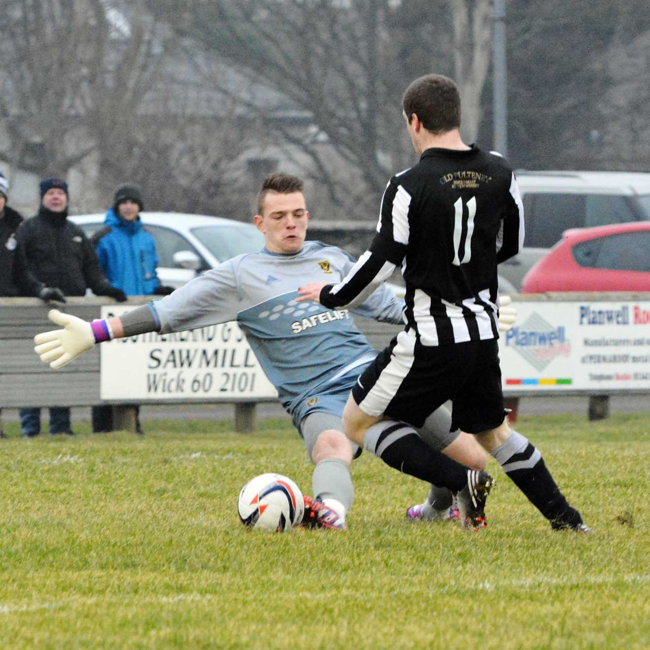 Photo: wick Academy 4 Huntly 0