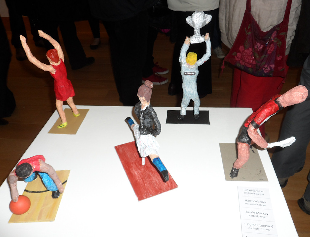 Photo: Thurso High Art Exhibition 2015