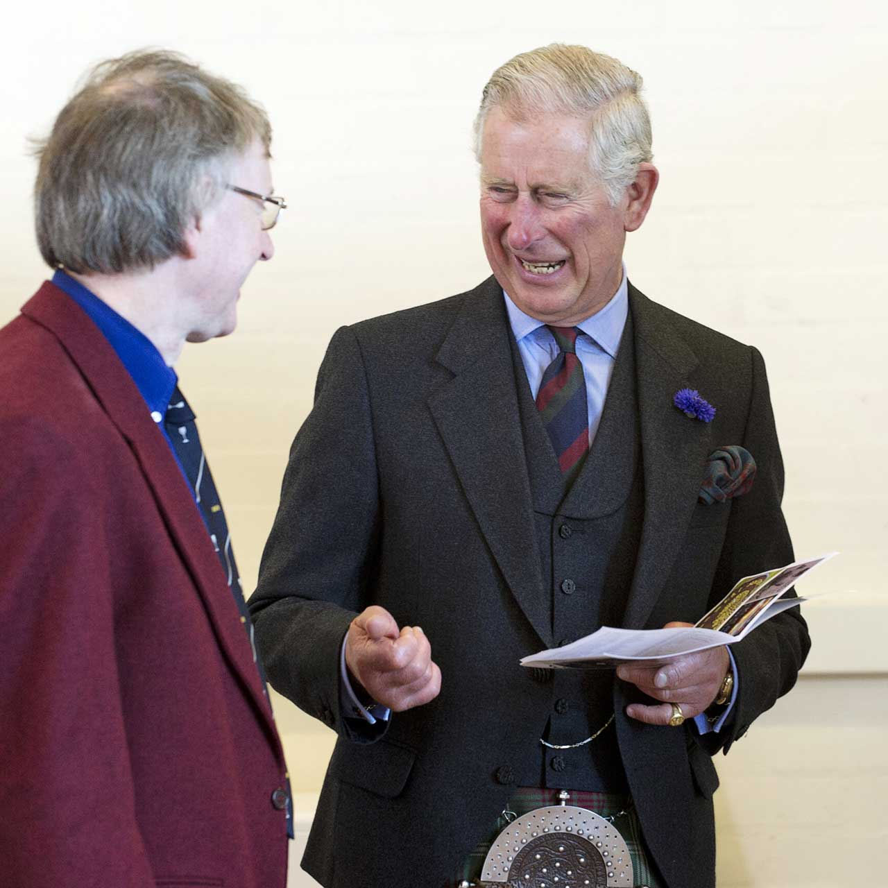 Photo: Duke Of Rothesay Sees Caithness Artists Exhibition