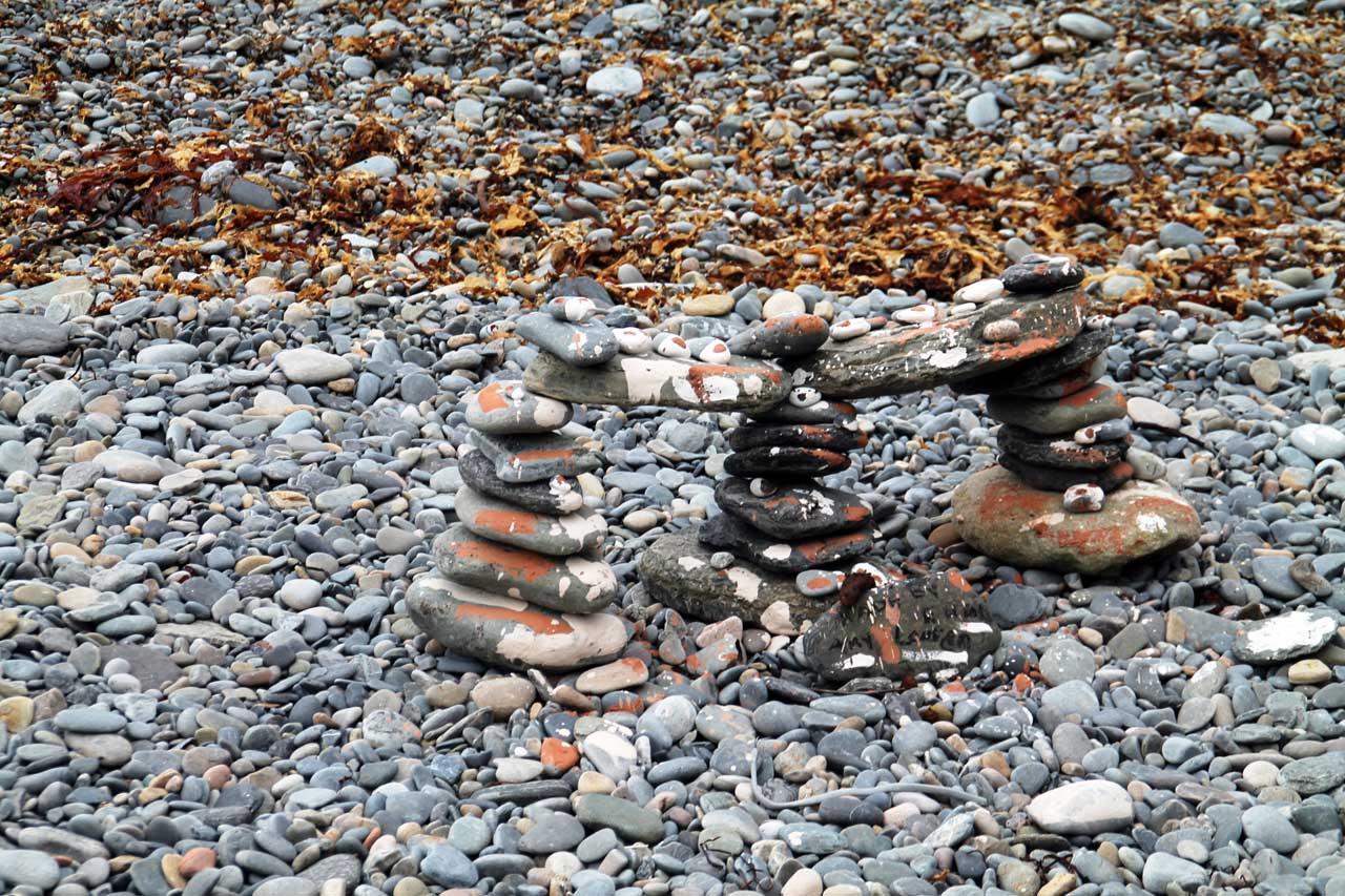 Photo: Seashore Art At Lybster