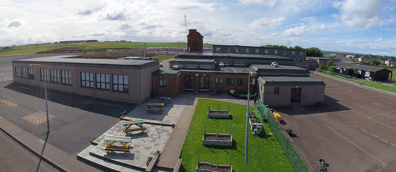 Photo: Pulteneytown Academy School From Above