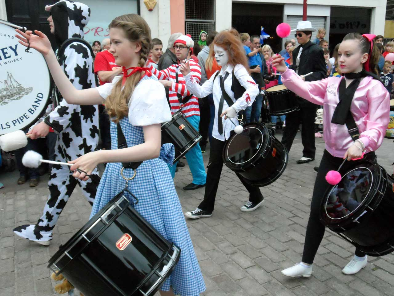 Photo: Wick Pipe Band Week 2015 - Fancy Dress Parade