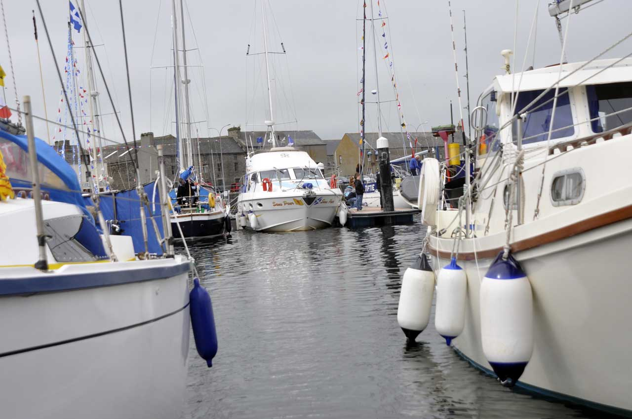 Photo: Wick Lifeboat Harbour Day 2015