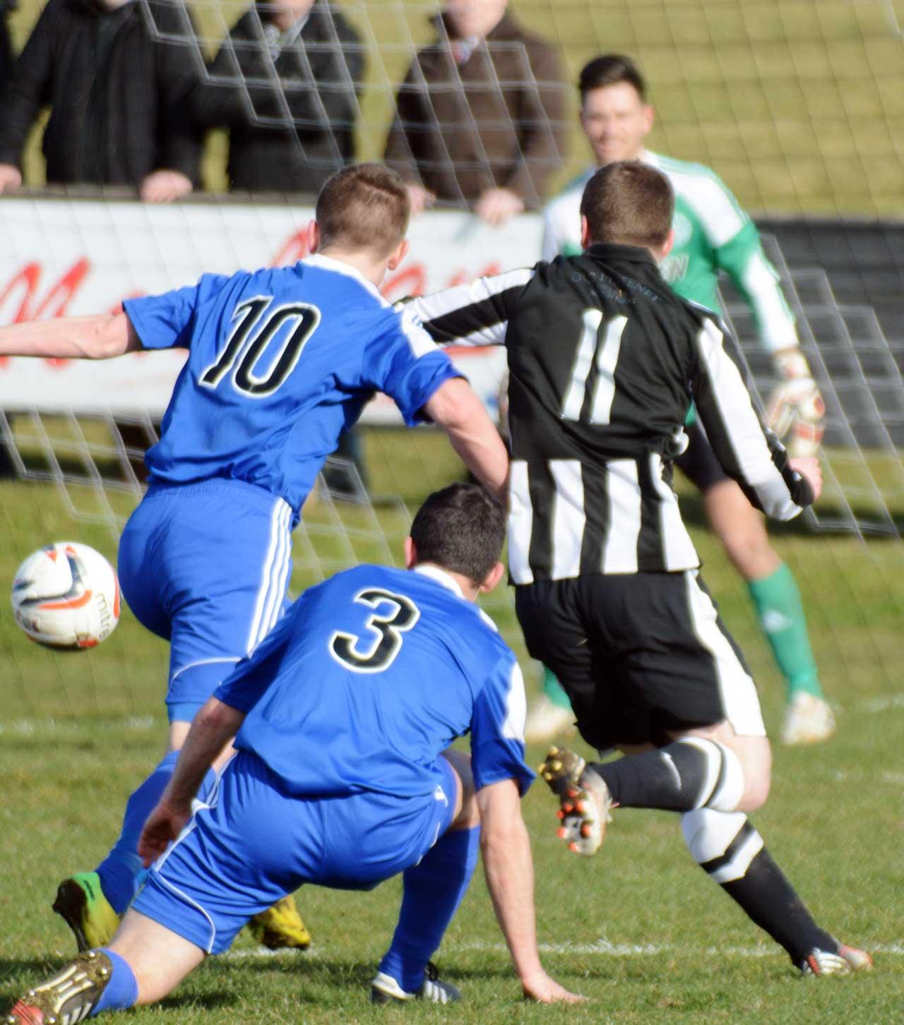 Photo: Highland League Cup semi final - Wick Academy 2 Nairn County 1